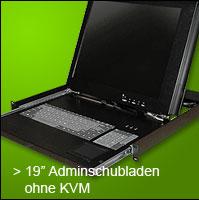 """19"""" Adminschubladen ohne KVM"""