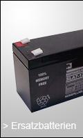 Ersatzbatterien für USV Anlagen