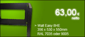 "19"" Wandschrank Wall Easy 8HE nur 63,00 netto"